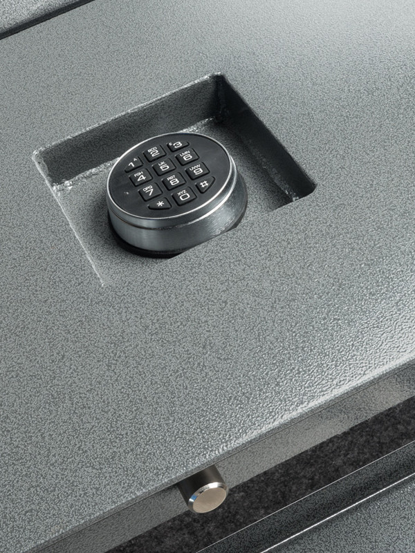 21665-recessed keypad, pin, hinge detail