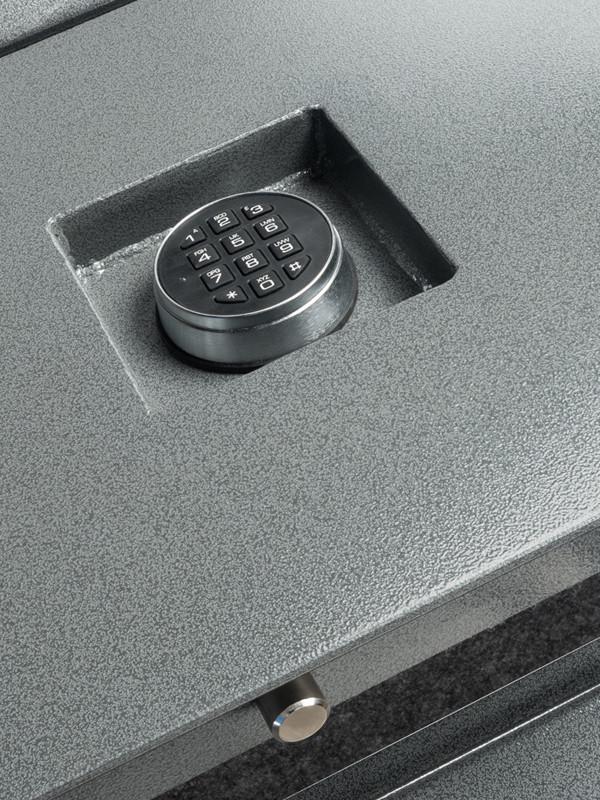 21665-recessed keypad, pin, hinge detail