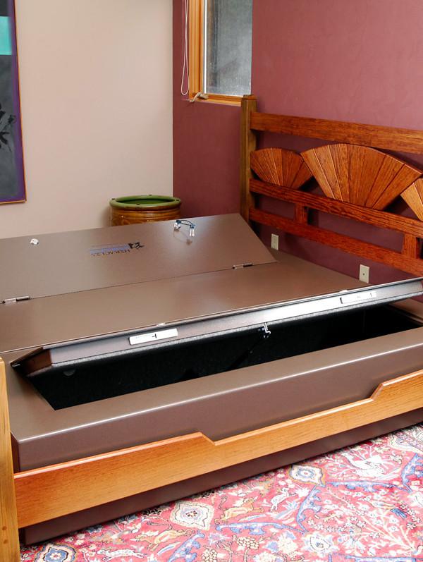 2307 Bed bunker installed-open