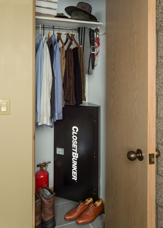 Closet Bunker Concealed Safe Gun Safes Vault Hidden